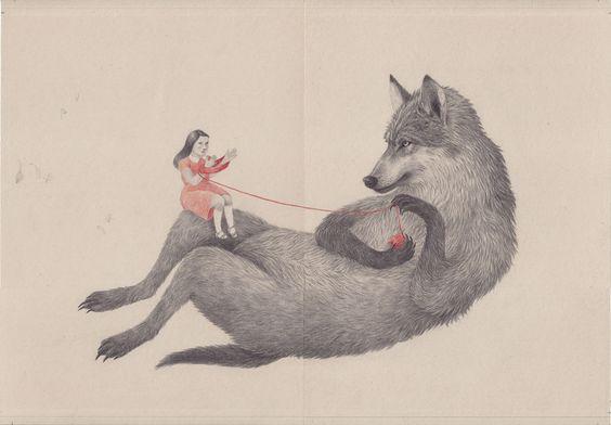 Jak Czerwony Kapturek połknął wilka, czyli spotkanie z wewnętrznym drapieżnikiem.